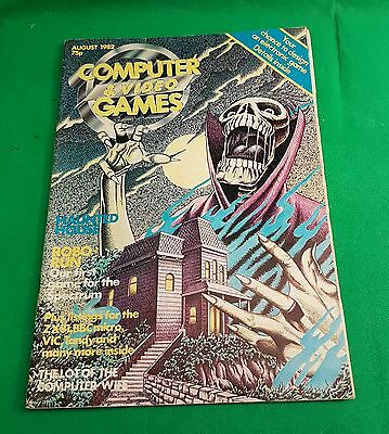 Computer & Video Games / C&VG Magazine  August 1982 ~ Vintage Computing (o)