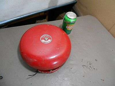 "Vintage /  Harington Signal Co. Bell-  10"" Bell 24 Volts DC, FIRE- SCHOOL BELL"