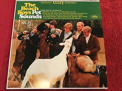 The Beachboys - Pet Sounds LP Record 180g Vinyl in MINT Condition
