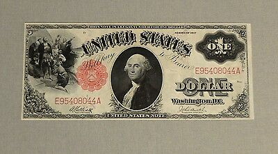 1917 $1 One Dollar Bill Legal Tender Currency Sawhorse SHARP and CRISPY