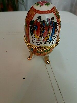 Collectable decorative ceramics egg Chinese