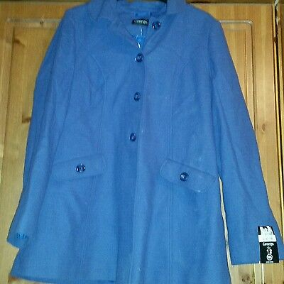 coat jacket from george size 12 never used