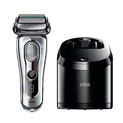 Braun Series 9 9095 CC Wet/Dry Foil Electric Shaver with Clean and Renew Charger