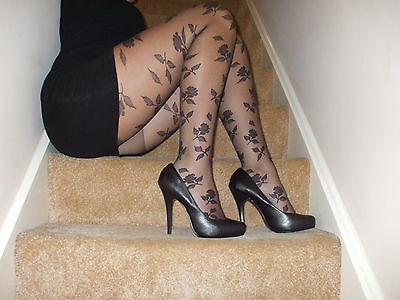 Fashion tights. size med large. worn/washed