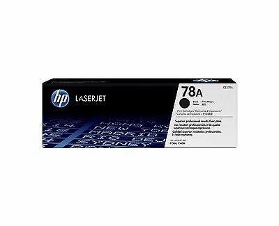 New Genuine Sealed Bag NO BOX HP 78A Laser Toner Cartridges CE278A Seal Intact
