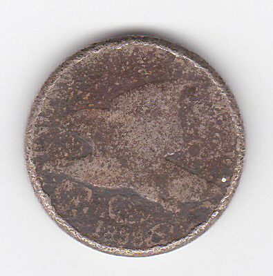 1858 Flying Eagle Cent Penny