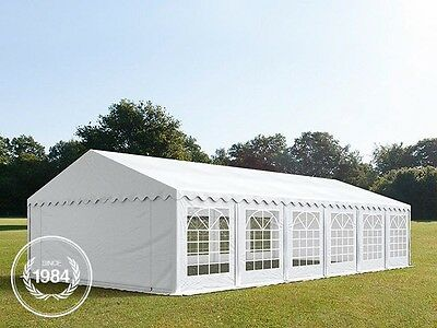 6x12m PVC Heavy Duty Marquee, Wedding Party Tent, white, Bolt Steel Construction