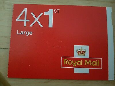 1st Class Large Stamps (Two Booklets of 4x1st)