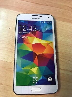 NON-WORKING Dummy Phone Toy Model Display For Samsung Galaxy S5 - White