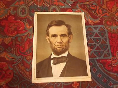 Antique  Print of Abe Lincoln