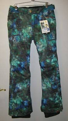 Roxy Torah Ski Pants Bright Refuned - New With Tags - Size Small - Tailored Fit
