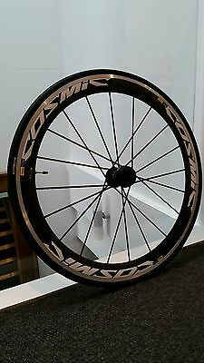 Brand new 700c Mavic Cosmic SR front 52mm wheel with carbon spokes.