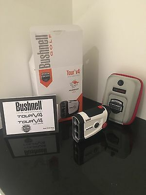 Bushnell Tour V4 Golf Laser Rangefinder Featuring Jolt Technology Brand New