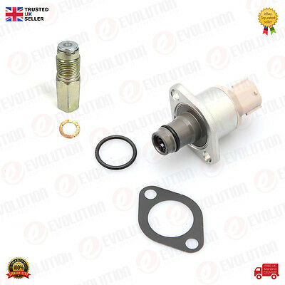 Fuel Pump Inlet Metering Suction Valve + Pressure Relief Valve