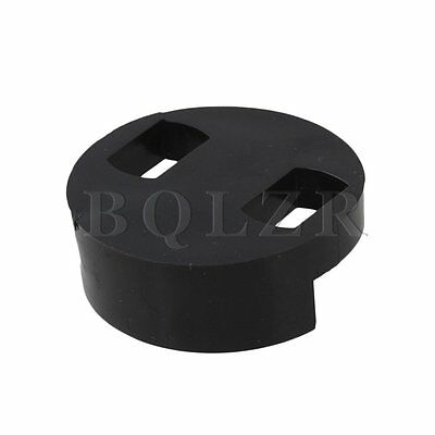 Round Style Rubber Mute For String Double Bass Blk