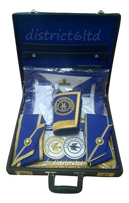 masonic regalia-CRAFT PROVINCIAL COMPLETE PACKAGES WITH SOFT/HARD REGALIA CASE