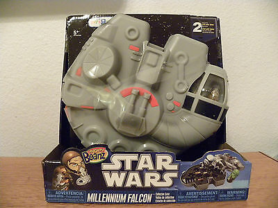Star Wars Millennium Falcon Mighty Beanz Collector Case - New - Holds 40 Beans