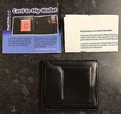 Card To Hip Wallet Card Trick BRAND NEW