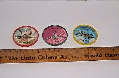 Vintage HOSTESS -JELLO PICTURE WHEELS #32,116 & 155
