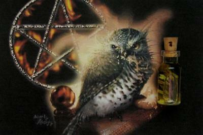 OWL Spirit Guide Totem Animal Ritual Oil Anointing Oil  ~ Wicca Witchcraft Pagan