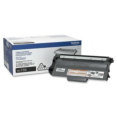 New Genuine Factory Sealed Brother TN-750 Toner Cartridge TN750