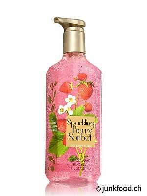 Bath & Body Works Cleansing-Seife - Sparkling Berry Sorbet (236ml)