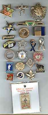 26 Different Collector Pins