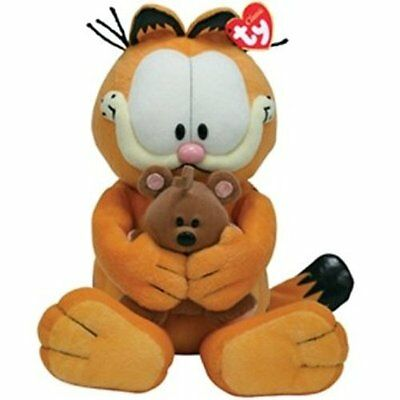 TY Garfield the Cat with Pooky Bear Plush Toy NEW