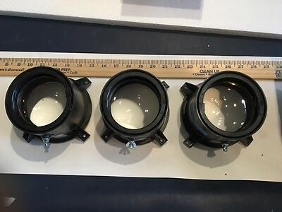 SET OF THREE US Precision Lens - Delta 24 Model - From