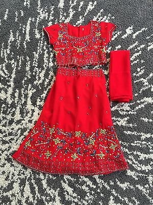 Indian Outfit Lehnga size 2T-3T,  indian size 18