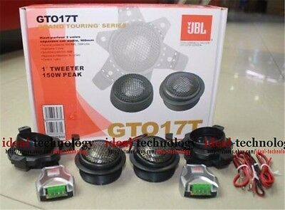 "Jbl Gto17T +2Yr Wrnty 1"" 300W 2 Ohm Full Range Car Audio Stereo Tweeter Speakers"