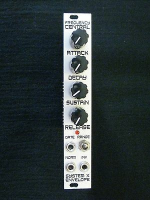 Frequency Central System X Envelope Eurorack Synthesizer Module