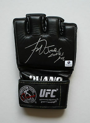 "Vitor Belfort ""jesus Loves You""  Autographed Ufc Ouano Mma Fight Glove (Gai)"