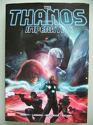 The Thanos Imperative hardcover graphic novel Ignition Devastation Sourcebook