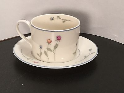 Gorham Town & Country - Country Flowers - Cup & Saucer - ONE - 1 - Excellent