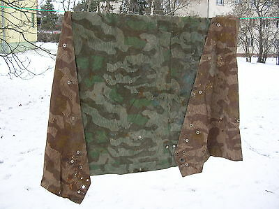 BERLIN 1940 CAMMO shelter raincoat poncho camouflage Zeltbahn tent triangle