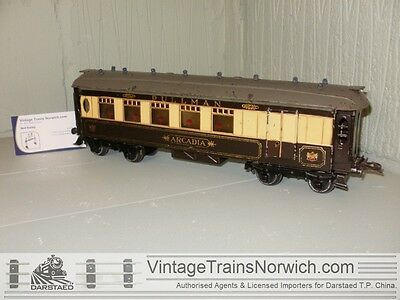 "HORNBY 0 GAUGE O 1935 No.2 Special PULLMAN Coach ""ARCADIA"" / Pre-War Issue."