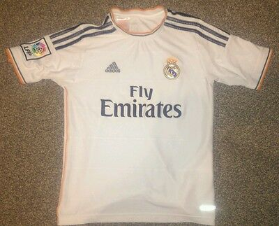 Real Madrid Football Shirt Size Age 9-10 Years