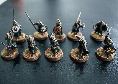 Lord of the rings - Games Workshop Warriors of Rohan x10 painted