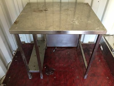 Commercial Catering/ Workshop Stainless Steel Table, With Shelf