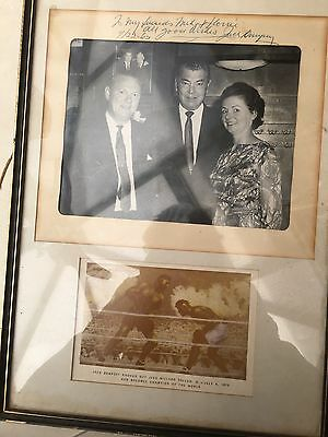 SALE Jack Dempsey Original Signed Dated Photograph