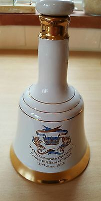 Wade - Bells Scotch Whisky Decanter Commemorating Birth Of Prince Of Wales