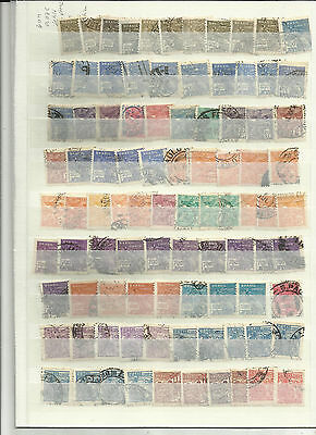 Brazil 1920/40s used duplicated lot