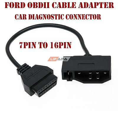 7PIN to 16PIN OBDII/2 Cable Adapter Car Diagnostic Connector for FORD | LIFAFA