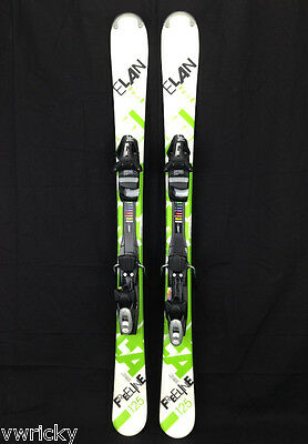 ELAN FREELINE 135 CMS Snowblade Ski blade Mini Skis NEW with Release Bindings