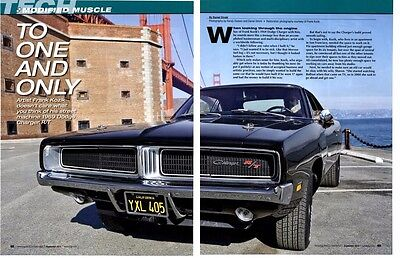 1969 Dodge Charger R/t 446 (Modified) ~  Nice 6-Page Article / Ad