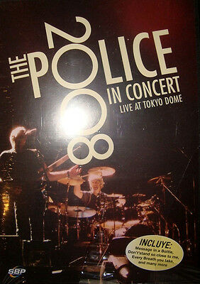 Police In Concert Live At Tokyo Dome 2008 Dvd