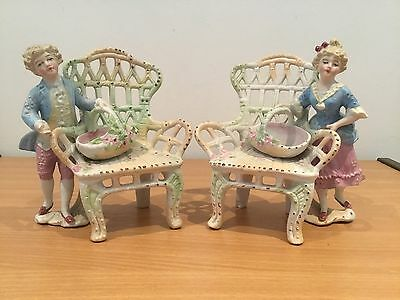 Figurines Of The Late 19Th Century. Porcelain. Germany.