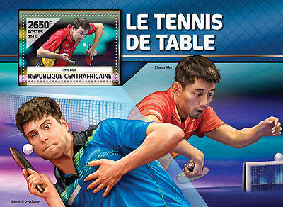 Central African Rep 2016 MNH Table Tennis Timo Boll 1v S/S Sports Stamps