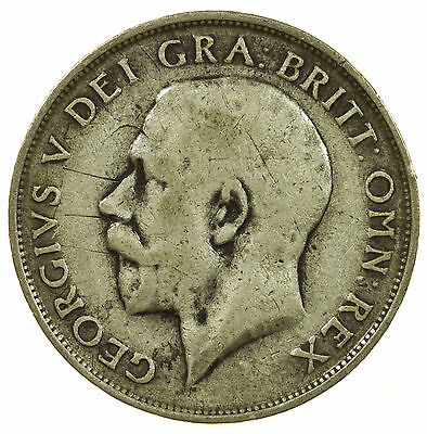 Great Britain, George V Shilling, Silver, 1913